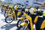 Scooter Sharing, a Torino i motorini gialli di MiMoto