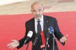Il commissario agli affari economici Pierre Moscovici all'Ecofin informale a Vienna