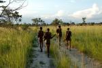 Una mutazione genetica avrebbe aiutato gli antenati dell'uomo a cacciare nella savana (fonte: Stephan C. Schuster, Penn State University)