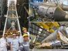 Momenti dellinaugurazione del progetto Area, destinato a produrre argon destinato alla ricerca sulla materia oscura (fonte: INFN)