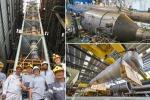 Momenti dell'inaugurazione del progetto Area, destinato a produrre argon destinato alla ricerca sulla materia oscura (fonte: INFN)