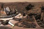Una delle inquadrature di Marte ripresa dal rover Curiosity (fonte: NASA)