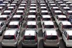 Istat, produzione autoveicoli in calo del 6,5% a luglio