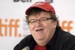 Il regista Michael Moore