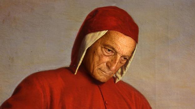 divina commedia, Alberto Samonà, Dante Alighieri, Sicilia, Cultura