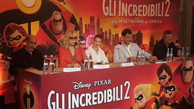 Rgs al Cinema, intervista ad Amanda Lear e Bebe Vio doppiatrici italiane del film Gli Incredibili 2