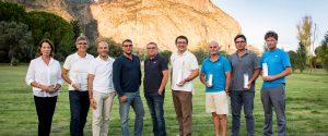 I premiati insieme con i dirigenti del Golf Club Palermo - Foto di Dario e Oriana Palermo