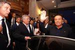 """Berlusconi a Fiuggi: """"Governo nemico della libertà, M5s peggio della sinistra"""""""