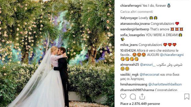matrimonio ferragnez interazioni instagram, Chiara Ferragni, Fedez, Siracusa, Società