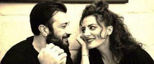 Clio Evans insieme al marito Emanuele Spedicato