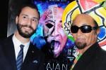 Il regista Eduardo Veneziano e l'artista Menelaw Sete