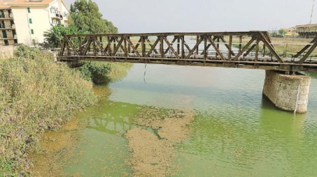 chiazze fiume salso licata, Agrigento, Cronaca