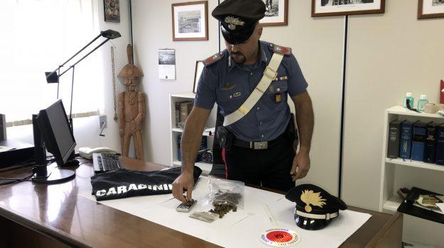 droga a Modica, pitbull contro i carabinieri a Modica, Ragusa, Cronaca