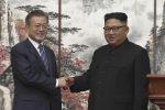 Le due Coree firmano accordo e Kim accetta la chiusura permanente dei siti nucleari