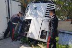 Riciclo di mezzi pesanti tra Baucina e Bagheria, le foto dell'operazione