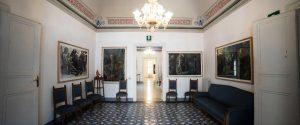 Una stanza della Fondazione Grimaldi