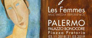 Da Taormina a Palermo, le donne di Modigliani approdano a palazzo Bonocore