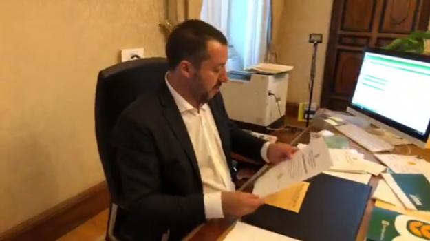 caso diciotti, salvini indagato, Matteo Salvini, Sicilia, Cronaca