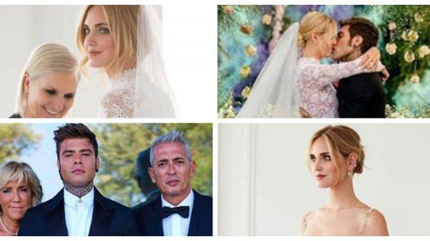 Ferragni-Fedez: sposi a Noto tra musica, fiori, panelle e arancine - Le foto delle nozze più social dell'anno