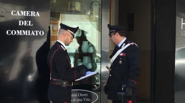 sequestro pompe funebri a Pachino, Siracusa, Cronaca