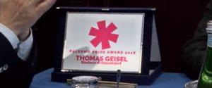 Pride, riconoscimenti ai sindaci di Palermo e Dusseldorf: premiato l'impegno per i diritti umani