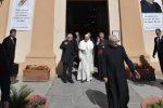La visita alla chiesa di padre Puglisi, la festa di Brancaccio per Papa Francesco: il video