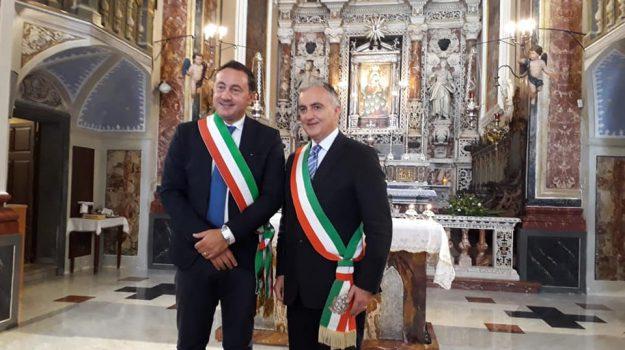 L'incontro tra il sindaco di Custonaci e di Favignana