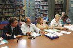 Un momento della riunione per la stesura del Piano (foto Scifo)