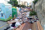 Discarica a cielo aperto in via Palchetto a Palermo, la segnalazione di un lettore