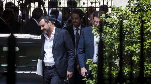 accordo centrodestra per le regionali, Giorgia Meloni, Luigi Di Maio, Matteo Salvini, Silvio Berlusconi, Sicilia, Politica