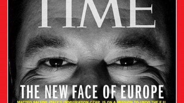 ministro italiano, time copertina salvini, vicepremier, Matteo Salvini, Sicilia, Politica