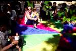 Palermo, un flash mob di bimbi e insegnanti per l'accoglienza: le immagini da Villa Giuseppe Tricoli
