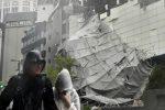 I danni causati in Giappone dal tifone Jebi, il più potente degli ultimi 25 anni