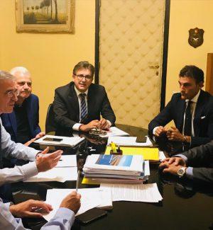 Vertice assessore Falcone - Amat