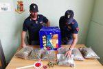 Messina, nasconde più di due chili di marijuana nel giardino: arrestato un 44enne