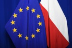 EU flag bandiera europea bandiera polacca Europa Ue Polonia - fonte: EC