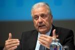 Il commissario Ue alla Migrazione, Dimitris Avramopoulos