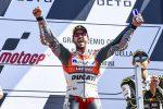 Motogp, a Misano trionfa Dovizioso davanti a Marquez