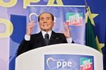 """Berlusconi: """"Mi candido alle Europee, questo Governo e i Cinquestelle nemici della libertà"""""""