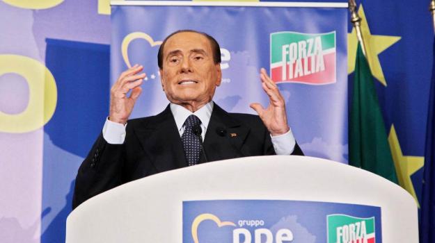 Berlusconi Forza Italia Fiuggi, Silvio Berlusconi, Sicilia, Politica
