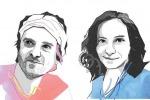 I ritratti di Giorgio Vacchiano e Silvia Marchesan (fonte: Paddy Mills, Nature)