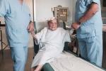 Operazione maxillo-facciale a paziente di 111 anni, sta bene