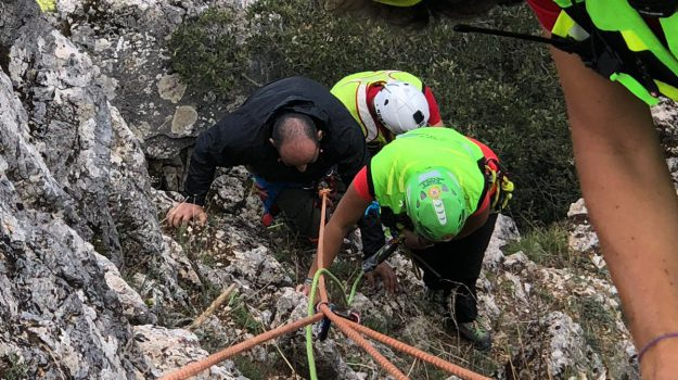 cercatore di funghi salvato, Palermo, Cronaca