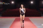 La ragazza di Tarquinia si presenta così alle selezioni per il titolo di più bella d'Italia
