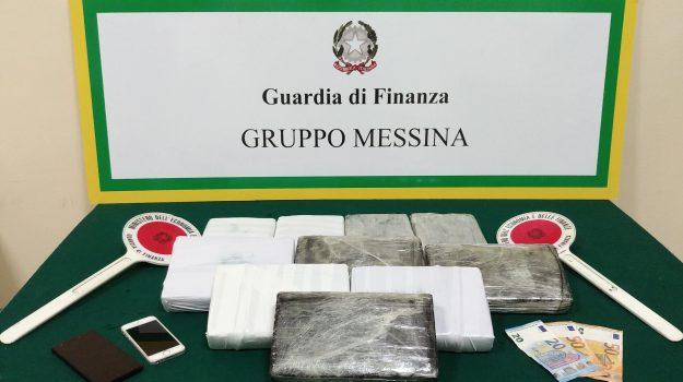 cocaina messina, Messina, Cronaca
