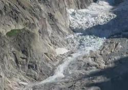 Persi almeno 30mila metri cubi di ghiaccio