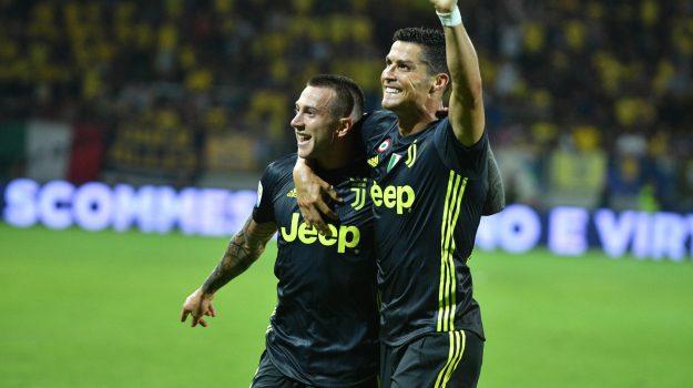 Calcio, juve, SERIE A, Cristiano Ronaldo, Sicilia, Sport