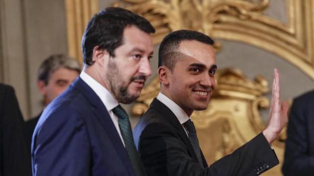 Manovra banche, Luigi Di Maio, Matteo Salvini, Sicilia, Politica