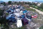 Discarica abusiva nel quartiere Cruillas a Palermo: ecco le immagini del drone