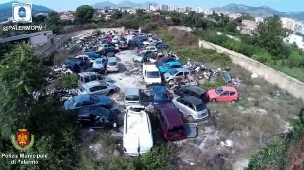 discarica abusiva palermo, rifiuti palermo, Palermo, Cronaca